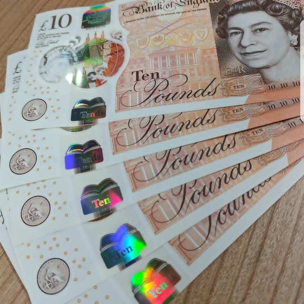 Buy Undetectable Fake British Pounds banknotes